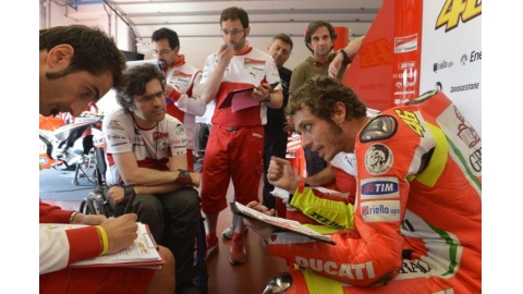 Test Ducati al Mugello Box
