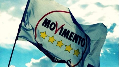 movimento 5 stelle bandiera m5s